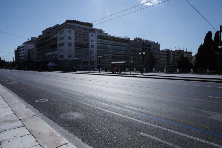 Κορωνοϊός: Ερήμωσε το Σύνταγμα  – Αδειοι δρόμοι, κλειστά μαγαζιά   tovima.gr