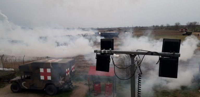 Έβρος: Νέα επεισόδια με χρήση χημικών από την τουρκική πλευρά | tovima.gr
