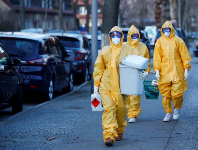 Γερμανία: «Μπλοκάρει» παραλαβή μασκών και ιατρικού εξοπλισμού | tovima.gr
