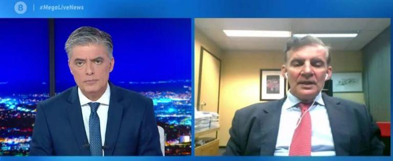 Δημόπουλος στο MEGA: Η Ευρώπη επικροτεί την Ελλάδα για την αντιμετώπιση του κορωνοϊού | tovima.gr