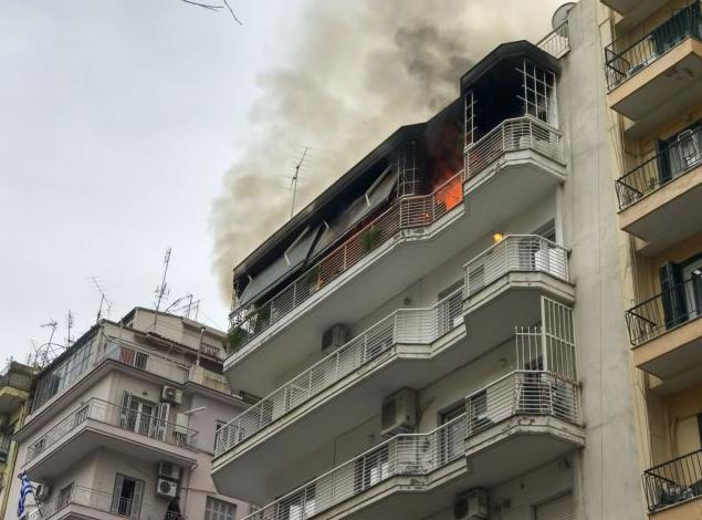Θεσσαλονίκη: Νεκροί ηλικιωμένοι σύζυγοι από φωτιά σε διαμέρισμα   tovima.gr
