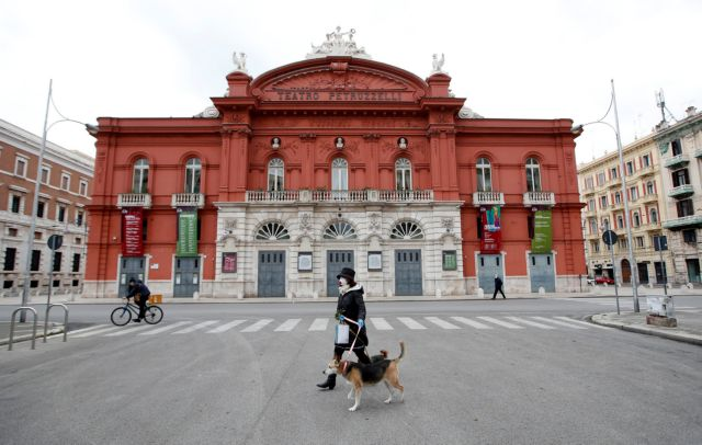 Ιταλία: 919 νεκροί το τελευταίο 24ωρο και 4.401 νέα κρούσματα κορωνοϊού | tovima.gr