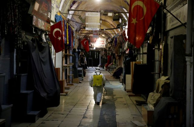 Τουρκία: Στους 108 οι νεκροί από τον κορωνοϊό – 7.402 τα κρούσματα | tovima.gr