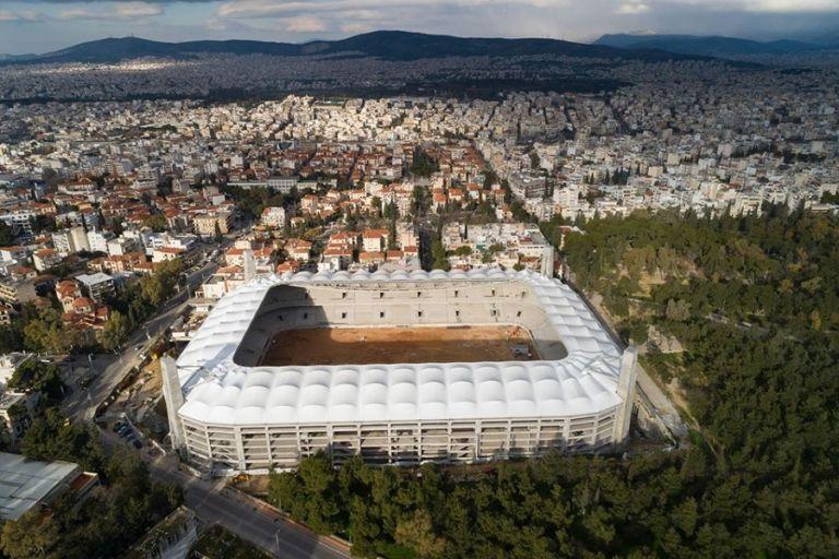 ΑΕΚ:  Η φωτισμένη «Αγια-Σοφιά» όπως φαίνεται από ψηλά | tovima.gr