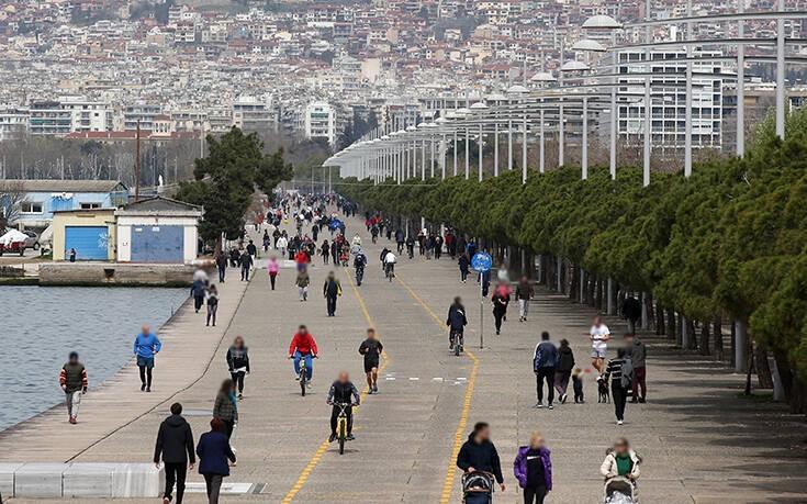 Πολιτική Προστασία: Περιορισμός κίνησης πολιτών στη Νέα Παραλία Θεσσαλονίκης   tovima.gr