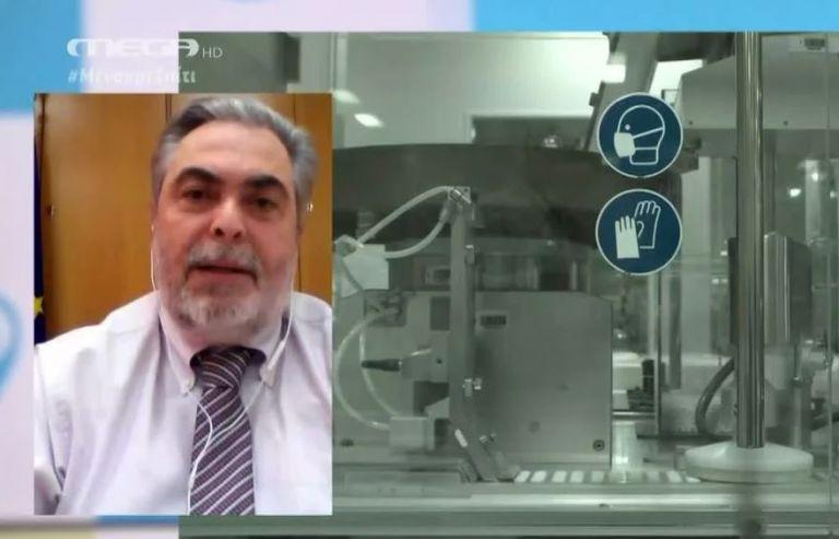 Φιλίππου στο MEGA: Η χλωροκίνη φαίνεται να έχει θεραπευτική δράση | tovima.gr