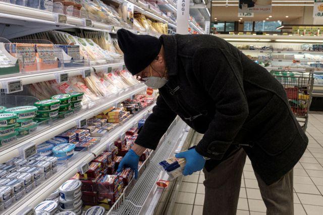 Κορωνοϊός: Στα ύψη οι πωλήσεις στα σούπερ μάρκετ | tovima.gr