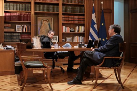 Κρίσιμη σύσκεψη στο Μαξίμου – Τι συζήτησαν Μητσοτάκης – Τσιόδρας | tovima.gr