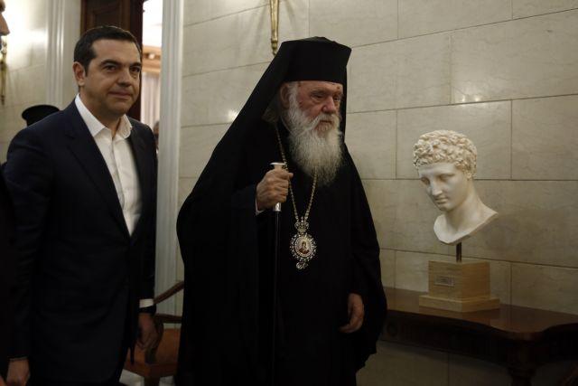 Ο Τσίπρας εύχεται ταχεία ανάρρωση στον Ιερώνυμο | tovima.gr