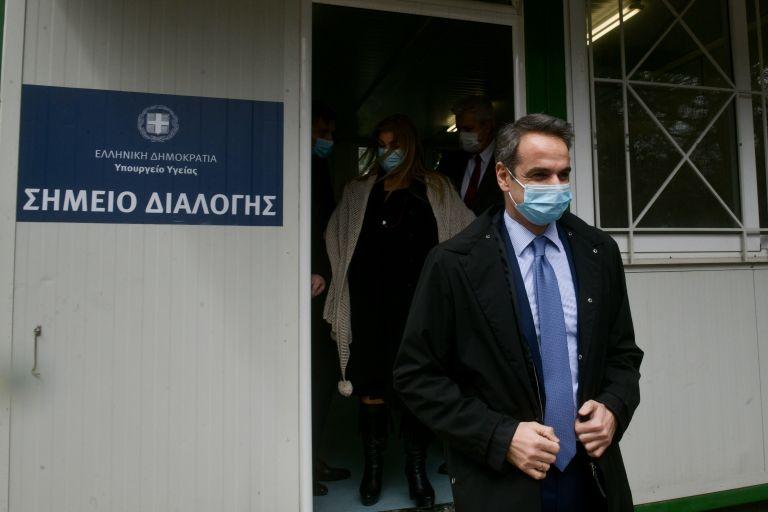 Οταν ο Μητσοτάκης εμφανίστηκε με προστατευτική μάσκα   tovima.gr