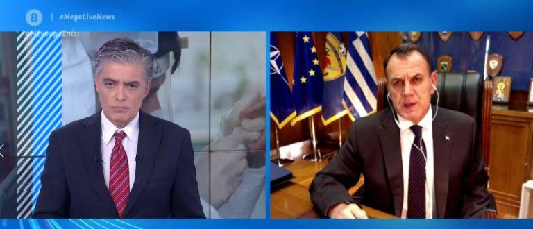 Παναγιωτόπουλος στο MEGA: Υπάρχει πλέον η διάσταση της υγειονομικής απειλής από την Τουρκία | tovima.gr