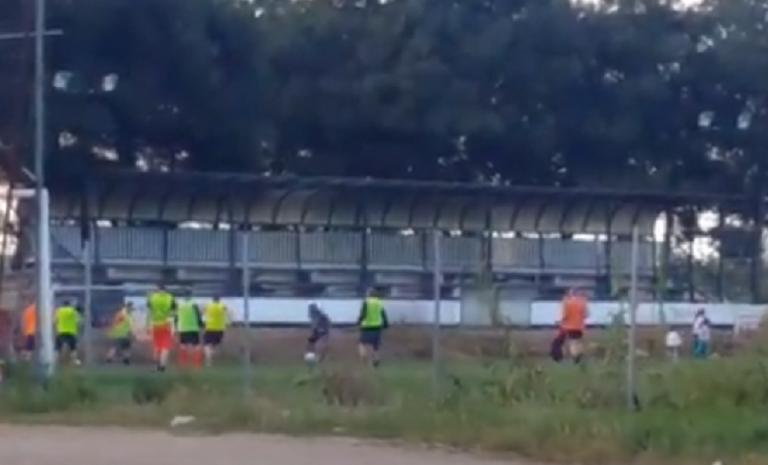 Ερασιτεχνική ομάδα της Μακεδονίας έσπασε την καραντίνα και άρχισε προπονήσεις | tovima.gr