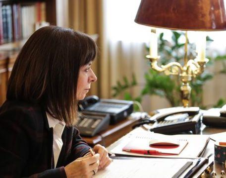 Σακελλαροπούλου: Ελευθερία του Τύπου, βασική προϋπόθεση για ζωντανό, εποικοδομητικό, δημοκρατικό δημόσιο διάλογο   tovima.gr
