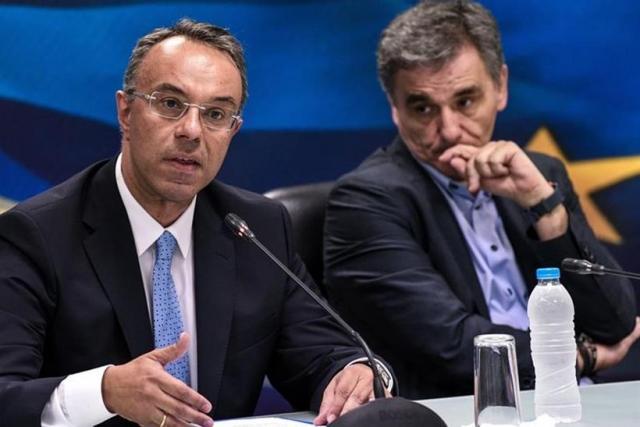 Κόντρα Τσακαλώτου-Σταϊκούρα με φόντο το απόν σενάριο για ύφεση 7,9% από το ελληνικό κείμενο | tovima.gr