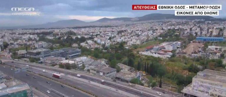 Με αυξημένη κίνηση η επιστροφή στην κανονικότητα – Εικόνες από το drone του MEGA   tovima.gr