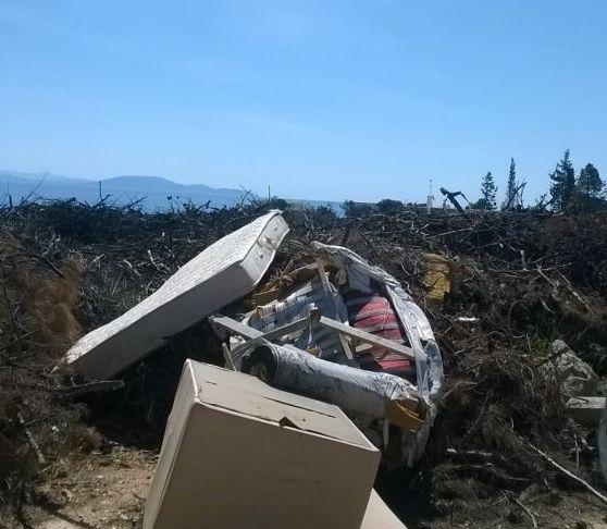 Μάτι: Επικίνδυνο οικόπεδο με τόνους σκουπιδιών και κορμούς δέντρων δίπλα σε κατοικημένη περιοχή | tovima.gr