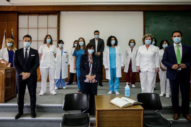 Στον Ευαγγελισμό η ΠτΔ  για την Παγκόσμια Ημέρα Νοσηλευτών | tovima.gr