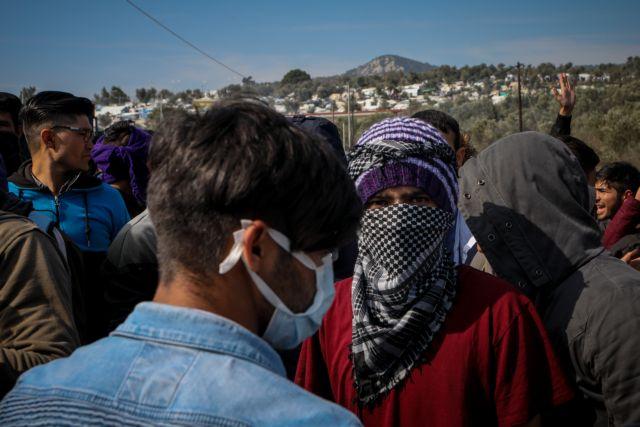 Λέσβος: Θετικοί στον κορωνοϊό δύο  πρόσφυγες | tovima.gr