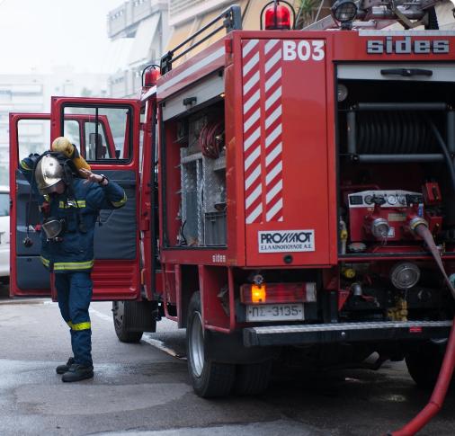 Θεσσαλονίκη: Μεγάλη φωτιά στον Εύοσμο | tovima.gr