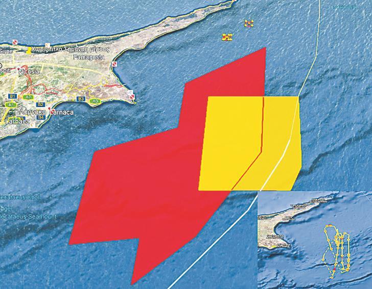 Η Γαλλία αρχίζει ασκήσεις στην κυπριακή ΑΟΖ στην περιοχή όπου κινείται το Μπαρμπαρός | tovima.gr