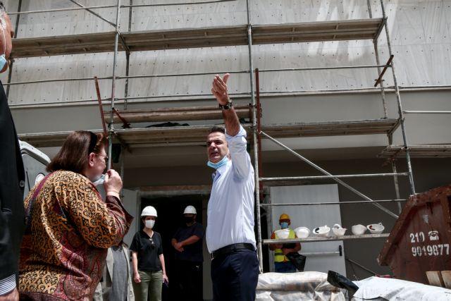 Μητσοτάκης από Πινακοθήκη: Εμβληματική δράση η ανακατασκευή της   tovima.gr