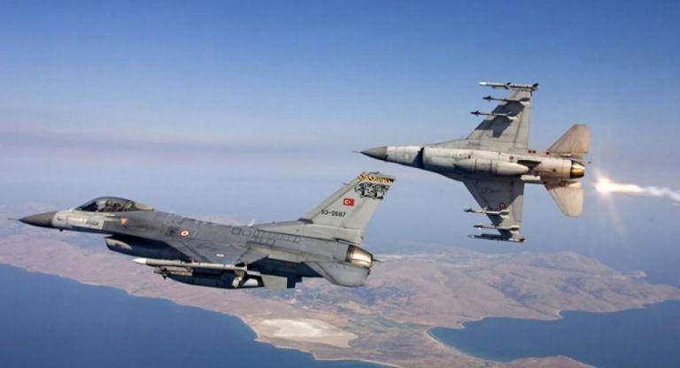 Τουρκικά F-16 πέταξαν και σήμερα πάνω από Αγαθονήσι και Ανθρωποφάγους | tovima.gr