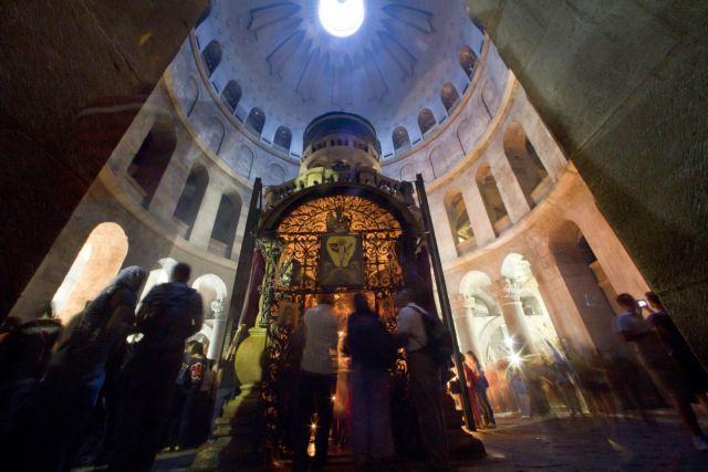 Ιεροσόλυμα: Ανοίγει ξανά από την Κυριακή ο Ναός της Αναστάσεως | tovima.gr