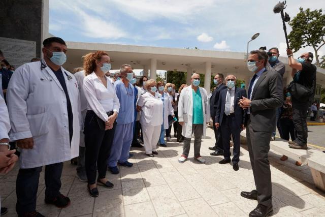 Μητσοτάκης στο ΑΧΕΠΑ: Θα χτίσουμε πάνω στην κρίση του κορωνοϊού | tovima.gr