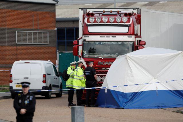 Έσσεξ: Σύλληψη 26 ατόμων για τον θάνατο 39 βιετναμέζων μεταναστών στο φορτηγό – ψυγείο | tovima.gr