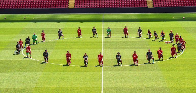 Λίβερπουλ: Οι παίκτες ενώθηκαν στη μάχη κατά του ρατσισμού   tovima.gr