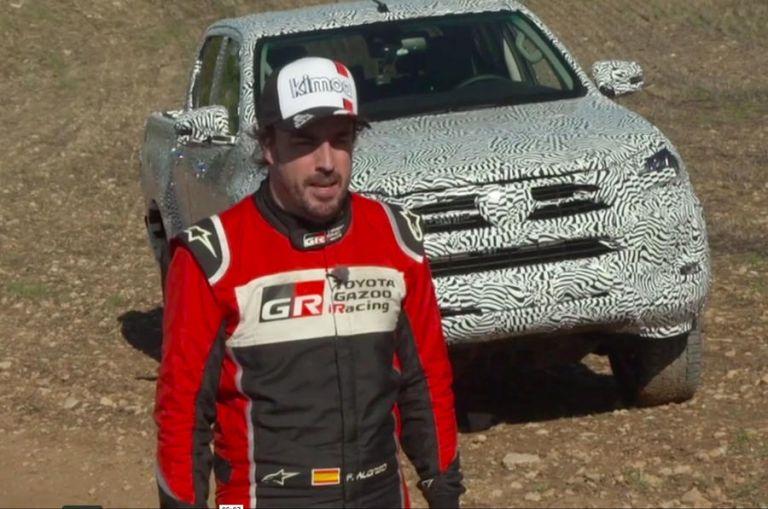 Το ανανεωμένο Toyota Hilux δια χειρός… Fernando Alonso   tovima.gr