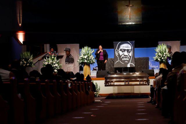 ΗΠΑ: Εκατοντάδες πολίτες στην κηδεία του Τζορτζ Φλόιντ   tovima.gr