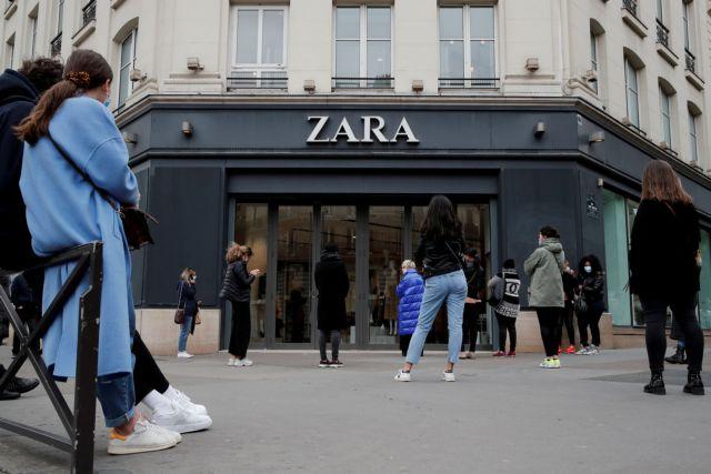Λουκέτο σε 1.200 καταστήματα  Zara | tovima.gr