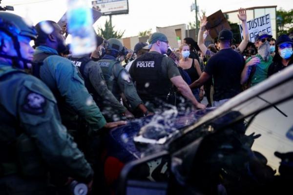 Ατλάντα: Διαδηλώσεις και επεισόδια μετά τη δολοφονία Μπρουκς από αστυνομικούς | tovima.gr