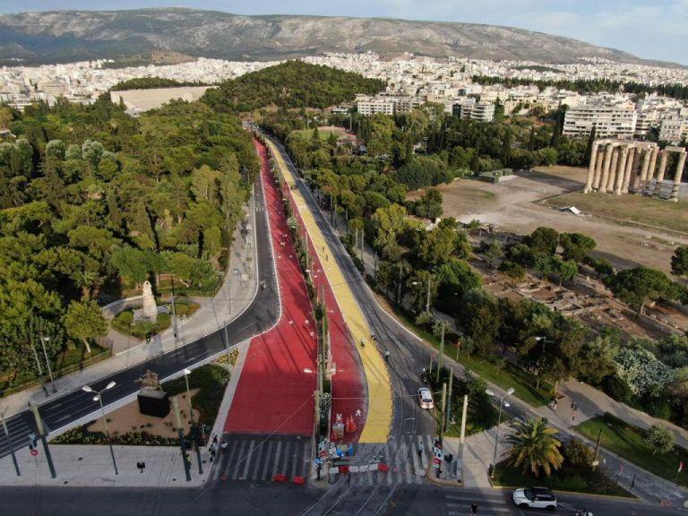 Μεγάλος Περίπατος: 3μηνη παραχώρηση γραμμών του τραμ   tovima.gr