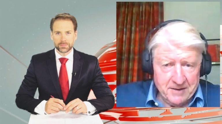 O Stanley Johnson, πατέρας του βρετανού Πρωθυπουργού αποκλειστικά στο Mega | tovima.gr