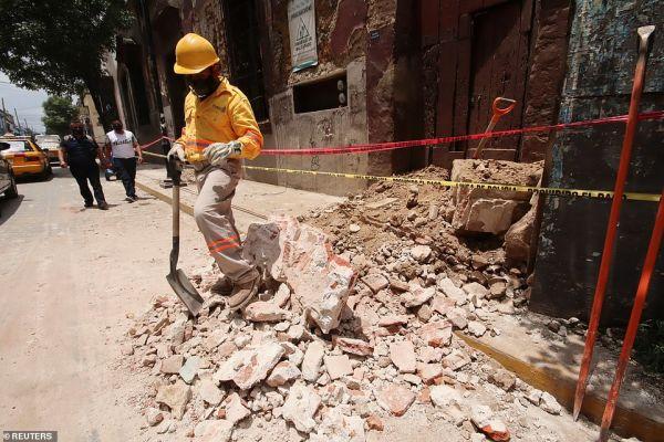 Μεξικό: Στους δέκα οι νεκροί από τον σεισμό των 7,5 Ρίχτερ | tovima.gr