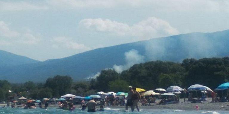 Φωτιά στους πρόποδες του Ολύμπου | tovima.gr