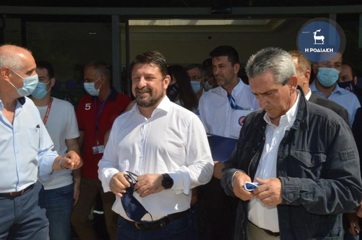 Χαρδαλιάς: Μεγάλο στοίχημα η Ρόδος για την επανεκκίνηση του Τουρισμού | tovima.gr
