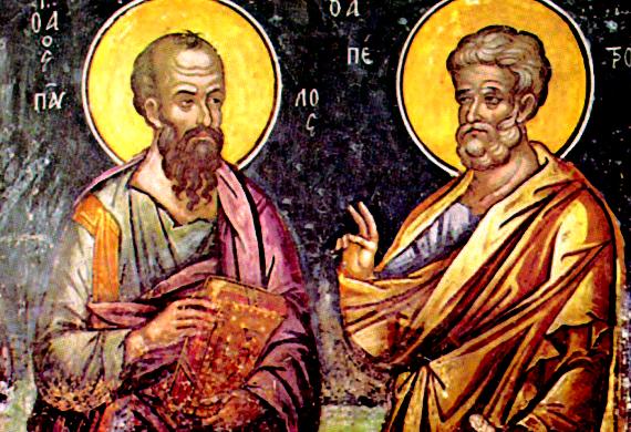 29 Ιουνίου: Η εορτή των Αποστόλων Πέτρου και Παύλου | tovima.gr