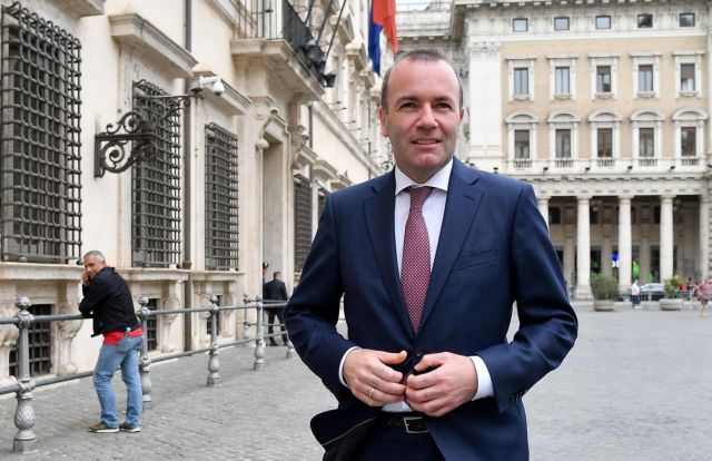 Βέμπερ: Η Ευρώπη να σταθεί στο πλευρό της Ελλάδας και να υπερασπιστεί τα σύνορά της   tovima.gr