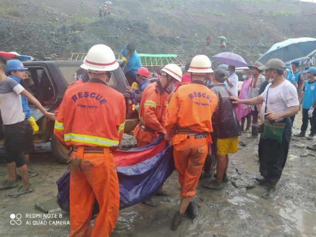 Μιανμάρ: Πάνω από 160 οι νεκροί μετά από κατολίσθηση σε ορυχείο | tovima.gr