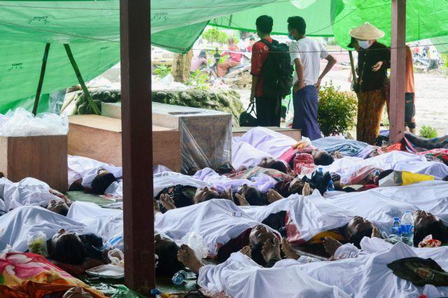 Κατολίσθηση σε ορυχείο της Μιανμάρ: Πάνω από 170 οι νεκροί   tovima.gr