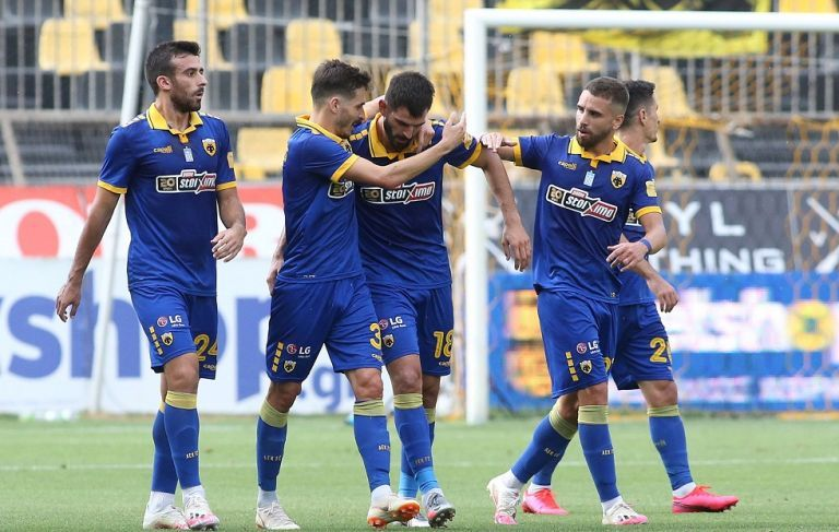 Περίπατος της ΑΕΚ στο «Βικελίδης» (4-1)   tovima.gr