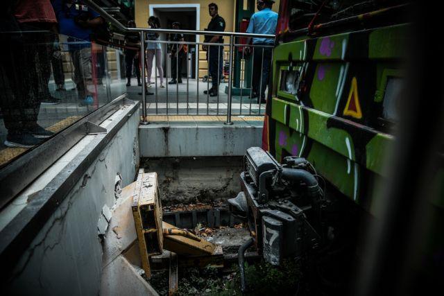 Κηφισιά: Πώς έγινε το ατύχημα με το τρένο [εικόνες]   tovima.gr