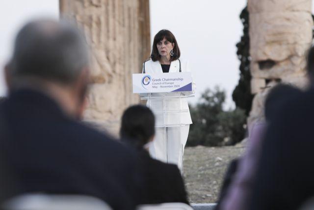 Σακελλαροπούλου: Ανά την Ευρώπη εντείνεται η ανησυχία για τη δημόσια υγεία και την ευημερία των λαών   tovima.gr