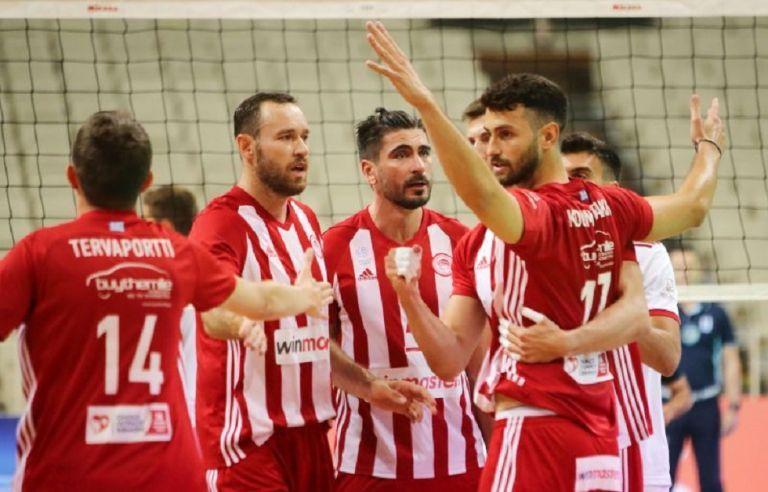 Volley League: Σύνθημα νίκης στον Ολυμπιακό ενόψει Παναθηναϊκού   tovima.gr