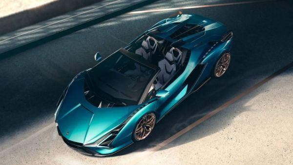 Υβριδική και σπάνια η νέα Lamborghini Sian Roadster | tovima.gr