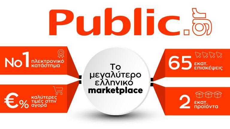 Public : Χτίζει τον ηγέτη του ηλεκτρονικού εμπορίου με επενδύσεις και δομικές αλλαγές | tovima.gr
