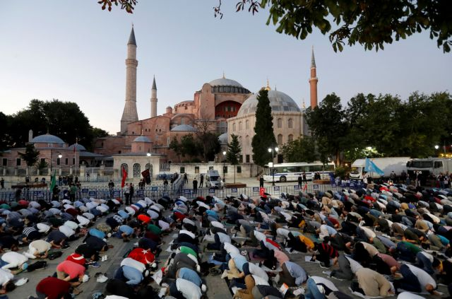 Αγιά Σοφιά: Γιατί ο Ερντογάν επέλεξε την 24η Ιουλίου για μουσουλμανική προσευχή | tovima.gr